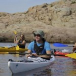 Guided kayak tour in Koster National park
