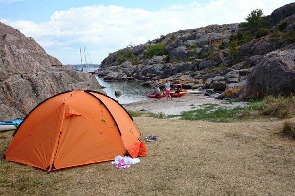 Free tent - when you rent kayaks
