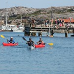 Kayak intro tour in Grebbestad, West Sweden