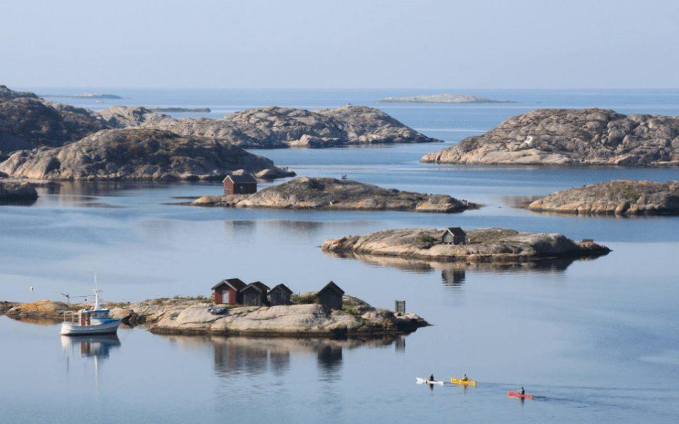 Skärgårdsidyllen Paddlers Paradise