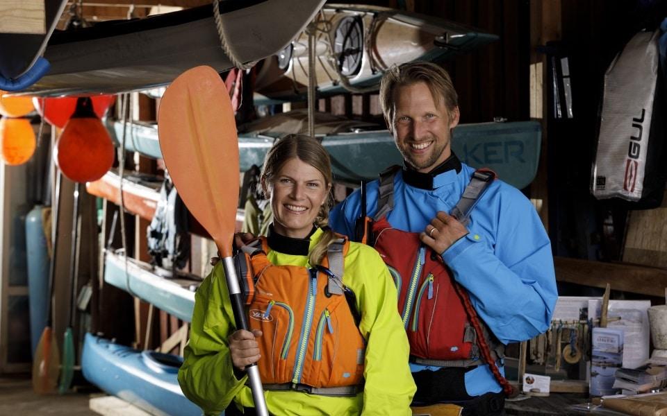 Kayak & outdoor outfitter in Grebbestad